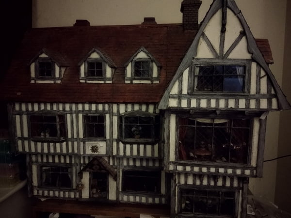 Large Tudor house
